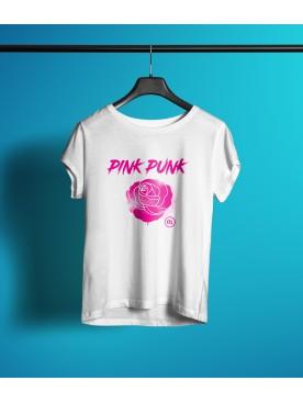 Damski T-shirt PINK PUNK -...