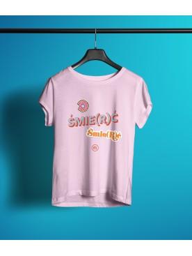 Damski T-shirt ŚMIE(R)Ć
