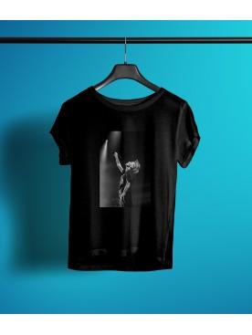 Damski T-shirt - A.Ch. Koncertowy czarny
