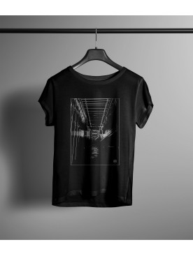 Damski T-shirt Schiza-Tunel