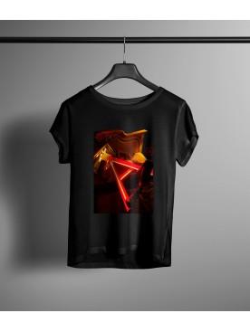 Damski T-shirt Schiza - A
