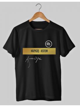 """T-shirt """"Krzyczę - jestem""""..."""