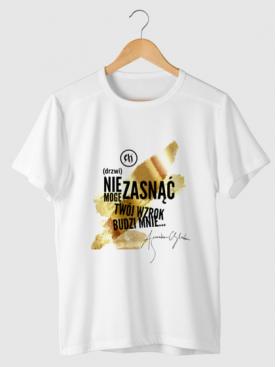 """T-shirt """"Drzwi"""" - Złota..."""