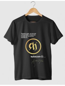 """Męski T-shirt """"Wybaczam Ci""""..."""