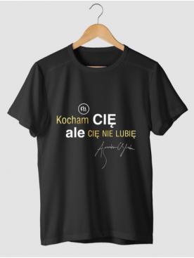 "Męski T-shirt ""KCACNL"" -..."