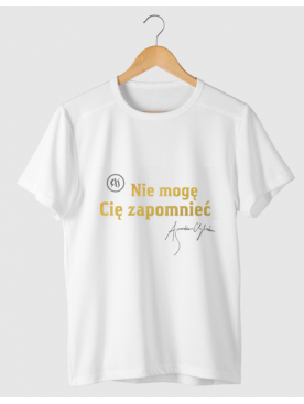 "Męski T-shirt ""Nie mogę Cię..."