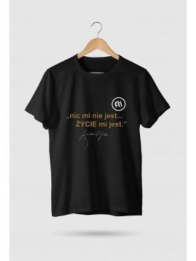 """Męski T-shirt """"Nic mi nie..."""