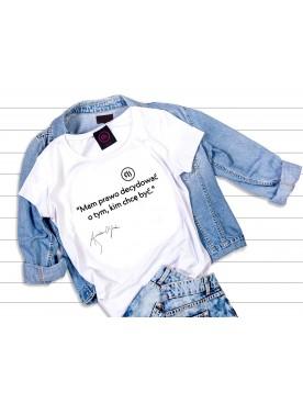 "T-shirt ""Mam prawo..."" -..."