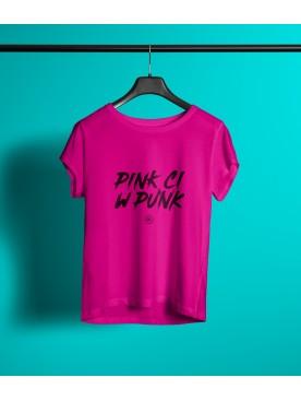 Damski T-shirt PINK CI W...